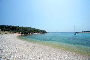 the beach of Budikovac